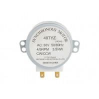 Мотор поддона для микроволновых СВЧ печей 30 V