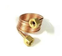 Труба капиллярная с гайками CTN-100