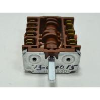 Переключатель ПМ 26866 (46.26866.801) шестипозиционный для электроплит и духовок EGO