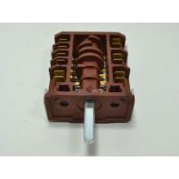 Переключатель семипозиционный 10 / 16А / 250V / Т150 для электроплит (контакты 6+6) AN_EL